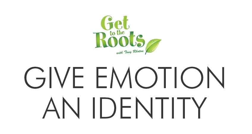 give emotion identity