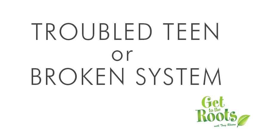 Troubled Teen or Broken Family System