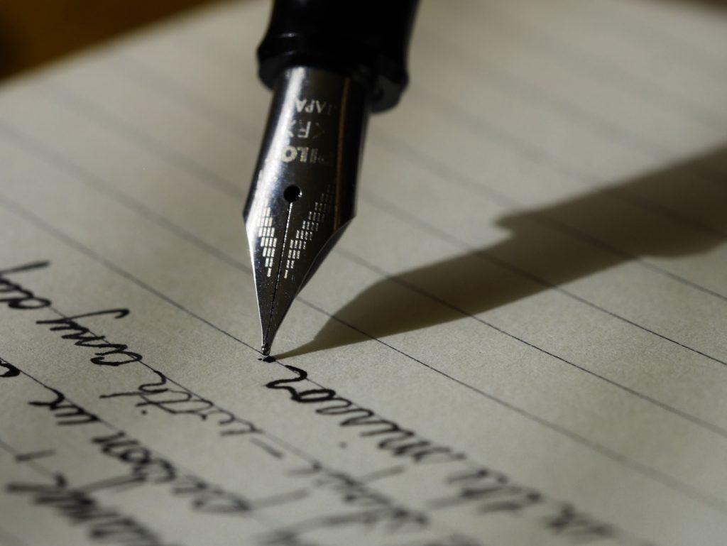 writing to god